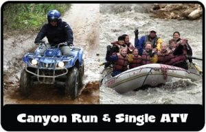 ATV Combo Canyon and single ATV