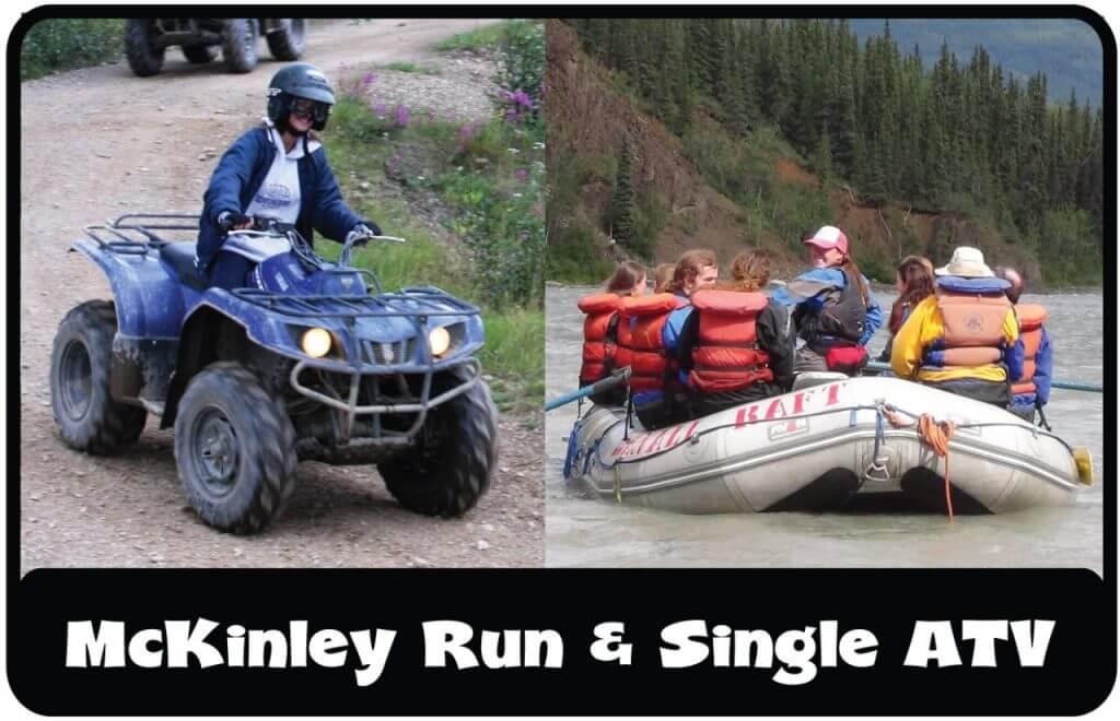 ATV Combo McKinley rafting