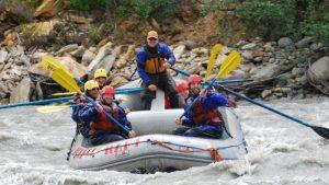 Denali Rafting Paddle Raft