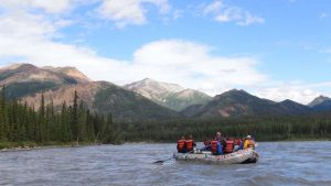 Mid McKinley Run with Sugar Loaf denali rafting